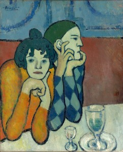 5. Pushkin - Picasso Harlequin and Companion