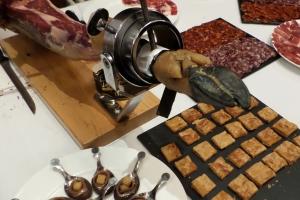 Catering ofrecido por Hispania tras el evento